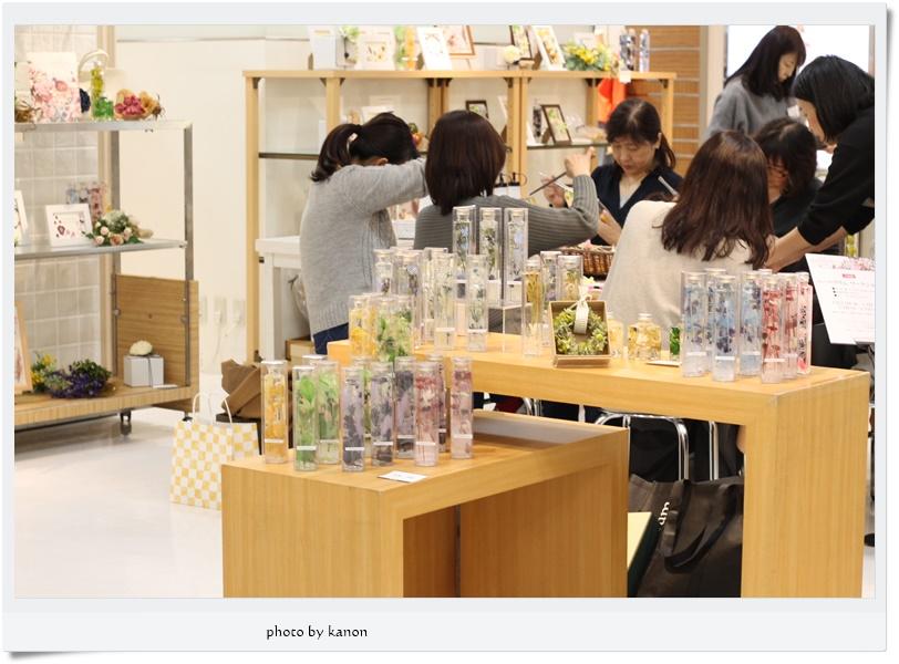 【終了しました】伊勢丹浦和店ハーバリウム販売&ワークショップ